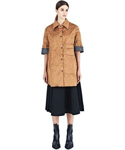 Yang Li   Oversized Creased Shirt