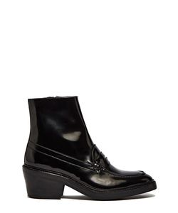 Yang Li | Penny Loafer Ankle Boots