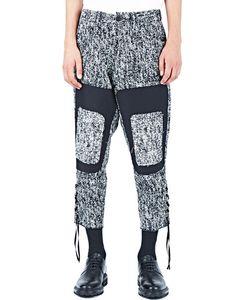 Aganovich | Tweed Patchwork Pants