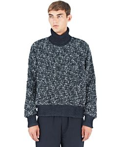 E. Tautz | Tweed Roll Neck Sweater