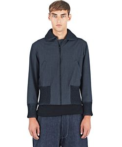 E. Tautz | Ribbed Bomber Jacket