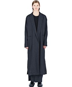 Thamanyah | Long Pinstripe Coat
