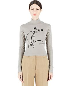 Eckhaus Latta | Printed Roll Neck Sweater