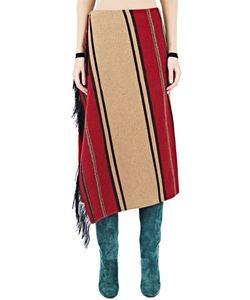 Lanvin   Woven Blanket Skirt