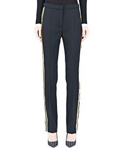 Lanvin   Gold Striped Pants