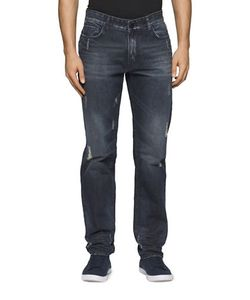 Calvin Klein Jeans | Straight-Leg Five-Pocket Style Jeans