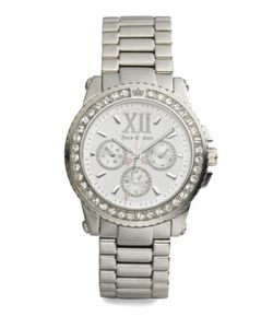Juicy Couture | Pedigree Crystal Bezel Watch