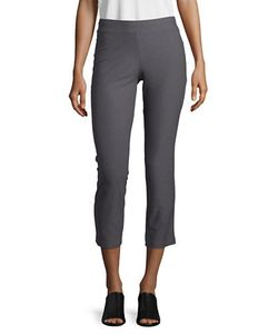 Eileen Fisher | Petite Solid Slim-Fit Pants