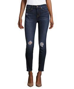 Seven for all Mankind | Five-Pocket Whiskered Jeans