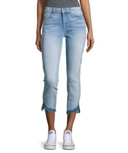7 For All Mankind | Roxanne Ankle-Length Classic Skinny Jeans