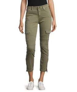True Religion | Cropped Cargo Pants