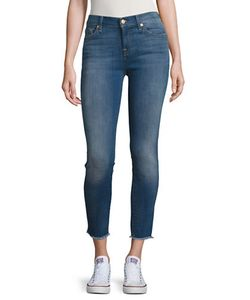 Seven for all Mankind | Faded Cropped Jeans