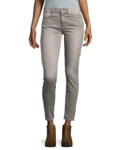 7 For All Mankind | Sateen Ankle Skinny Jeans