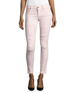 True Religion | Halle Distressed Super Skinny Jeans