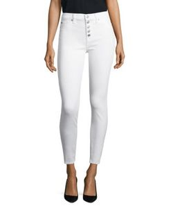 Paige | Ciara High-Rise Ankle Skinny Jeans