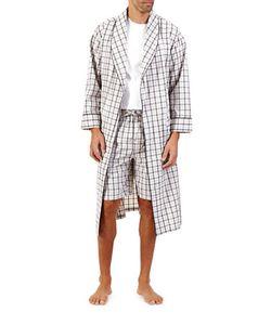 Nautica | Plaid Woven Robe