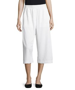 Dkny Pure | Relaxed-Fit Cropped Pants