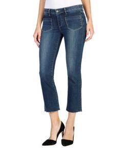 Paige | Cropped Cotton-Blend Jeans