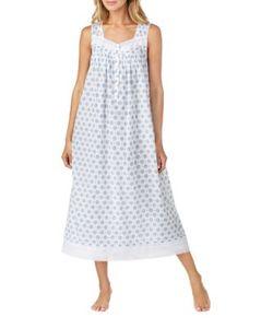 Eileen West   Sleeveless Cotton Nightgown