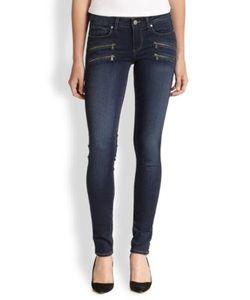 Paige | Transcend Edgemont Zip-Pocket Skinny Jeans