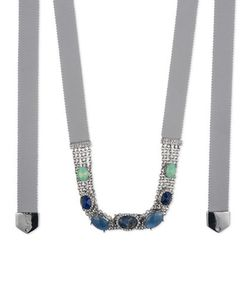 Jenny Packham   Chain And Stone Necklace