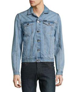 Calvin Klein Jeans | Two-Pocket Button-Front Denim Jacket