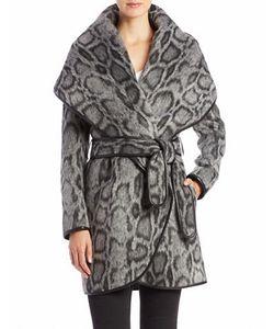 Diane von Furstenberg | Leopard-Print Wrap Coat