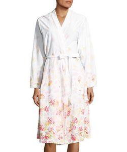 Carole Hochman   Wrap Front Cotton Robe
