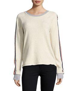 Splendid | Striped Raglan Sweatshirt