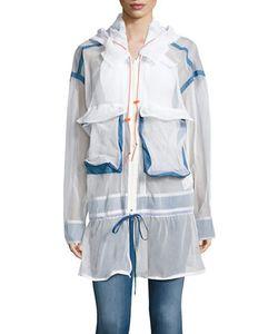 DKNY | Hooded Mesh Jacket