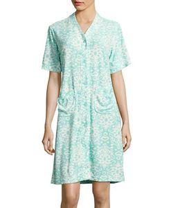 Miss Elaine | Abstract-Print Robe