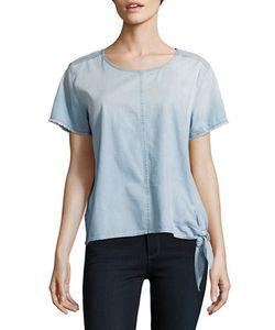 Calvin Klein Jeans | Side-Tie Denim Top