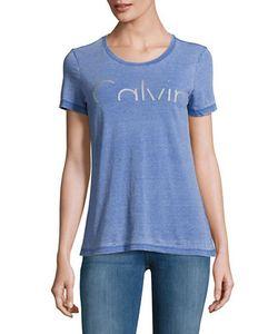Calvin Klein Jeans | Textured Scoopneck Tee