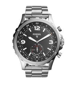 Fossil | Q Nate Hybrid Stainless Steel Bracelet Sportwatch