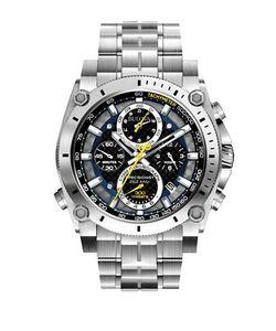 Bulova   Precisionist Stainless Steel Watch 96b175