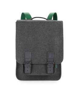 M R K T | Kendrick Felt And Faux Suede Backpack