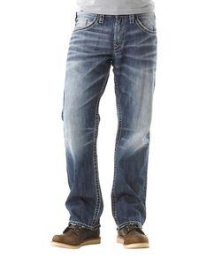 Silver Jeans | Gordie Straight-Leg Jeans