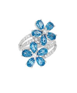 Lord & Taylor | Swiss Topaz Topaz And Sterling Ring