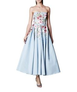 Marchesa Notte | -Motif Fit-And-Flare Gown