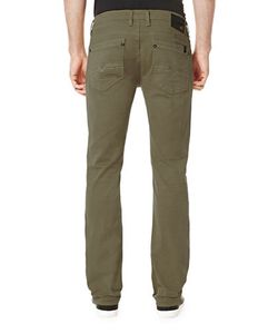 BUFFALO David Bitton | Six-X Five-Pocket Straight-Leg Jeans