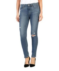 Paige | Hoxton Distressed Jeans