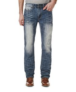 BUFFALO David Bitton | Six X Distressed Jeans