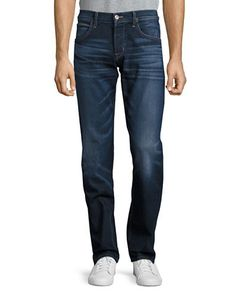 Hudson Jeans | Byron Washed Straight-Fit Jeans