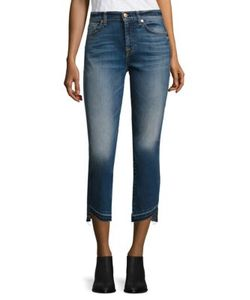 Seven for all Mankind | Rox Released Hem Ankle Jeans
