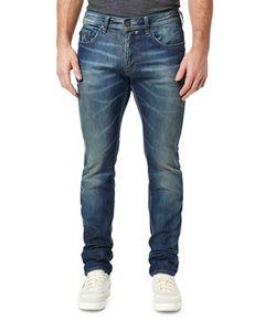 BUFFALO David Bitton | Straight Leg Slim-Fit Jeans