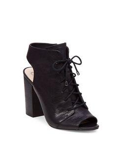 Jessica Simpson | Klaya Leather Lace-Up Sandals