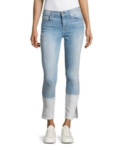 Seven for all Mankind | Dip Dyed Skinny Ankle Jeans