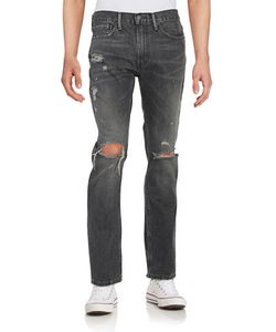 Levi's | 511 Distressed Straight-Leg Jeans