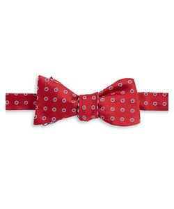 Brooks Brothers | Reversible Patterned Silk Bow Tie