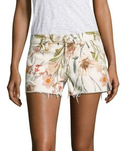 Seven for all Mankind | Tropical Printed Cutoff Shorts
